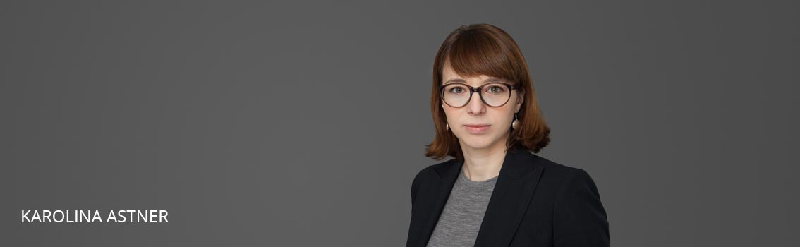 Karolina Astner FINKENHOF Attorneys at law Frankfurt Germany
