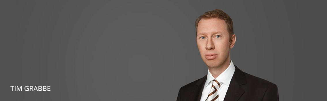 Tim Grabbe Rechtsanwalt FINKENHOF Rechtsanwälte