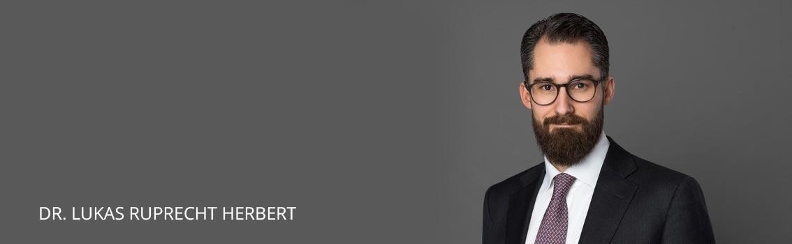 Dr. Lukas Ruprecht Herbert Attorneys at law Frankfurt Germany