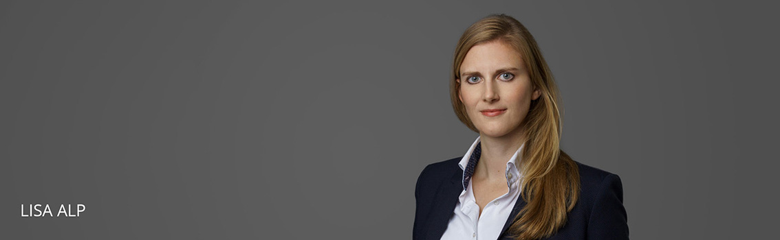 Lisa Alp Attorney at law at FINKENHOF, Frankfurt am Main