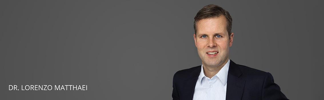 Dr. Lorenzo Matthaei Rechtsanwalt FINKENHOF Rechtsanwälte